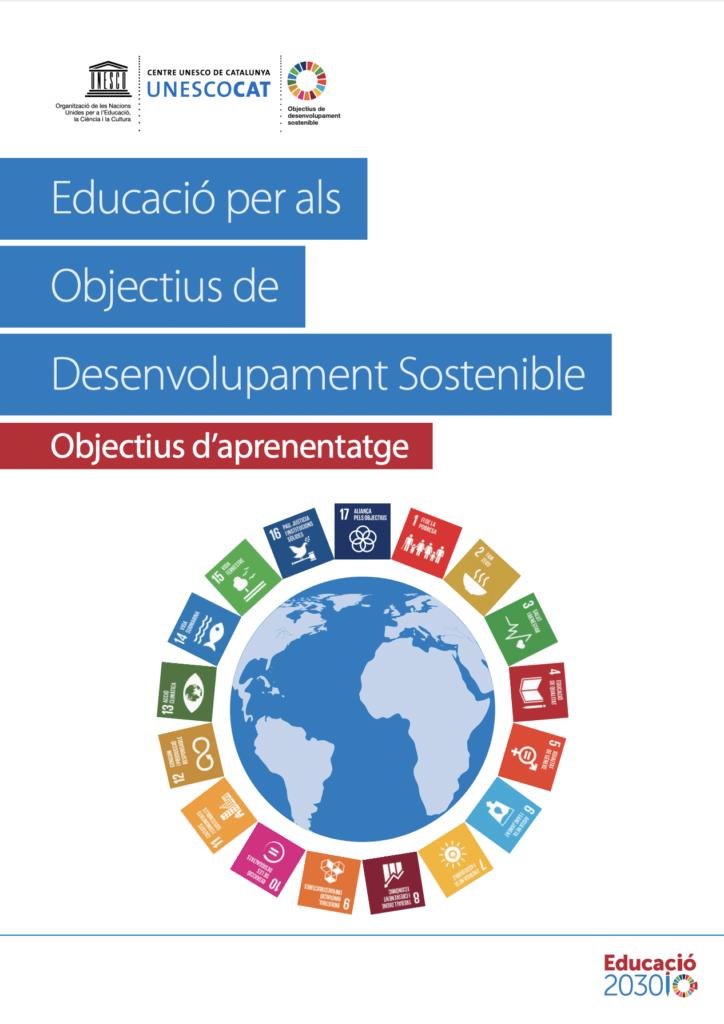 """Llibre """"Educacio per als objectius de desenvolupament sostenible"""""""