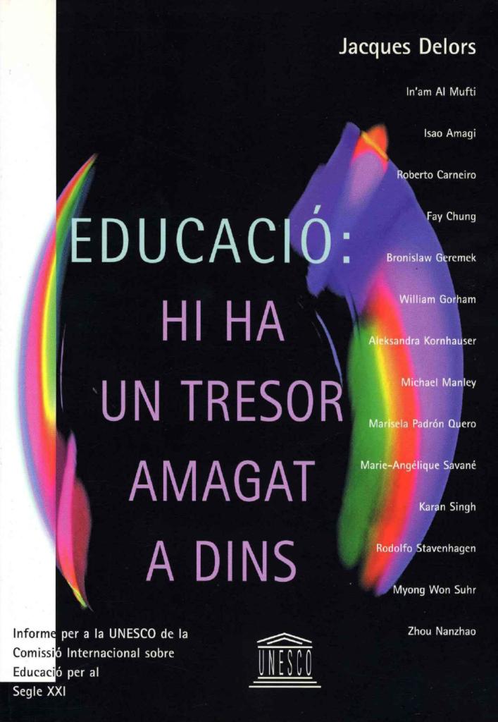 """Llibre """"Educació: Hi ha un tresor amagat a dins"""""""